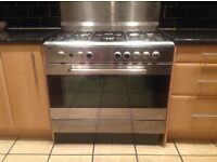 Range cooker - dual fuel 90mm