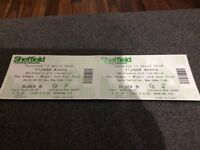 The Vamps Tickets Sheffield 14th April x2. Floor B row 12 seat 6 and 7