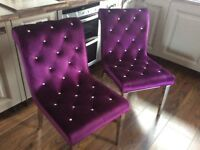 Stunning Pair of Chairs
