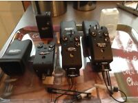 3 Delkim buzzers with receiver