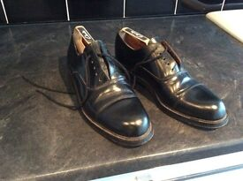 Oxford Style Black Shoes