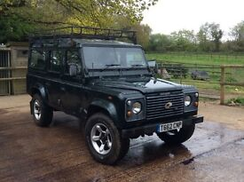 Reliable Landrover Defender County Station Wagon - Lower Mileage Engine!