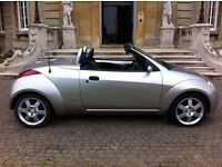 FORD STREETKA ICE EDITION, 1.6 CABRIOLET CONVERTIBLE, 12 MONTH M.O.T, FULLY LOADED, LOVELY CONDITION