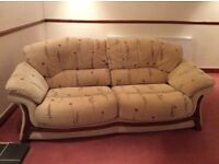 Large 2 Seater Sofa + 2 Chairs