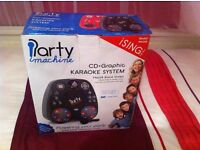 Karaoke Party Machine for children including CDS