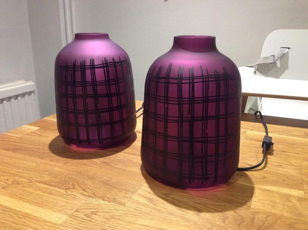 IKEA KOPPaR Table lamp Purple