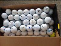150 Practise golfballs