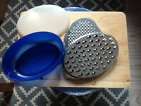 Grater and container