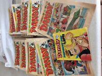 Dandy comics 1987-1996, x 60 assorted