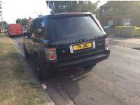 Range Rover td6 l322. £6000 part service history