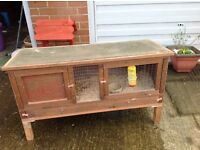 Hutch , rabbit , Guinea pigs , ferrets etc