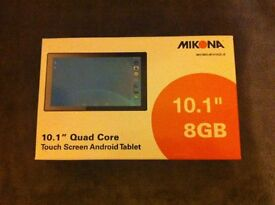 "Mikona Tablet PC 10.1"" 8GB Android"