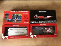 Mini champs Ducati models signed by riders Carl Fogarty and others