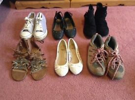 Selection of girls shoes size 1