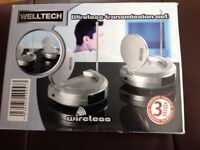 Welltech Wireless transmission set - Hardly used - in excellent working order
