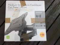 OMNIMOUNT NC80C NFA - MEDIUM SINGLE-ARM CANTILEVER FLAT PANEL MOUNT (23''- 42'' TV panels)