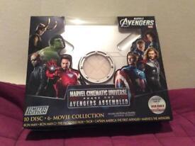 Marvel Cinematic Universe phase 1 Iron man Captain America Thor Hulk