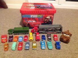 Disney Cars Bundle with 2 Disney Haulers