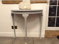 Console table - Side table. Hand painted - Sold