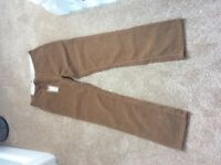 Timberland and Howick mens trousers new with tags