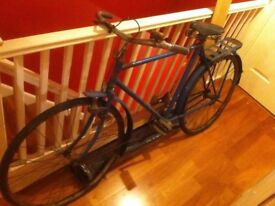 Antique Bicycle in need of NLC and restoration