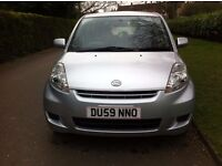 Daihatsu Sirion 2009, Manual 5 Doors Hatchback, 998 Engine, 1 Year MOT & £30 Road Tax For A Year