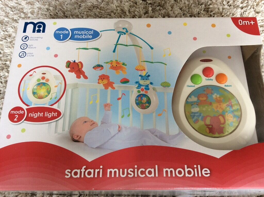 mothercare safari musical mobile in norwich norfolk gumtree. Black Bedroom Furniture Sets. Home Design Ideas