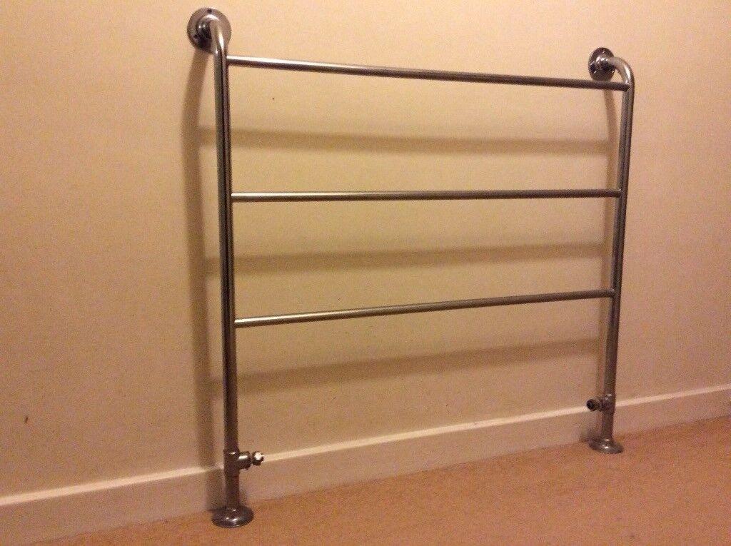 Chrome Towel Ladder Radiator. Large. £10