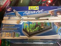 Tetra Aqua art fish tank 60 litres unused still in box