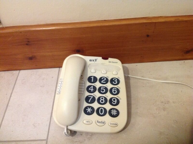 Big button BT telephone for sale  Grantown-on-Spey, Highland