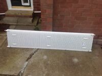 Single and Double White Radiator For Sale / Collect Only... £66 for Both