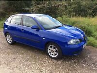 2005 SEAT IBIZA 1.9 se T.D.i * 2 OWNERS * GENUINE MILES * M.O.T TO JULY 2017 *