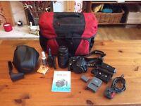 Canon EOS 350d Digital Camera & Extras
