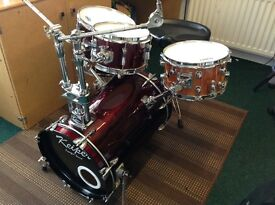 DRUM KIT (small set up big sound) ideal for smaller venues or limited space at home,