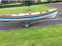 19 Foot Sheelin Fishing Boat - New Sealed Bearings In Trailer