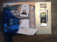 Tommee tippee closer to nature DECT digital monitor &movement sensor pad