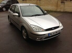54/05 Ford Focus 1.6 zetec maybe the cleanest one your see with full ford history