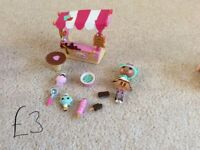 Lalaloopsy dolls and play sets