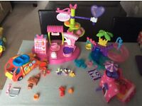 Mickey Mouse And Minnie Mouse Playsets