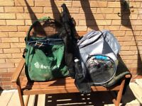 Very large quantity of fishing tackle