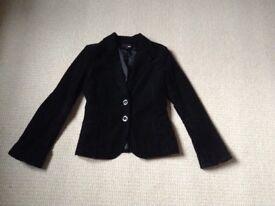 Jacket Black/Grey Cord