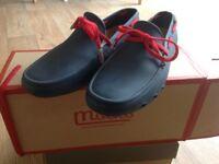 Mocks Men's boat/rubber shoes size UK7/EUR41