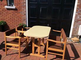 Kitchen table seats 4 people