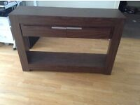 Oregon TV unit/sideboard and lamp table