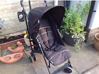 Hauck pushchair with raincover