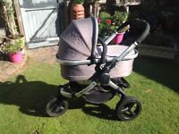iCandy Peach Jogger with Carrycot £190 and accessories in great condition.