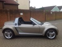 Smart Roadster - fun machine - go topless this summer