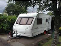 Ace Jubilee caravan.2003,4Berth.£4000 O.n.o.length 6.81m(22 .4 ft)