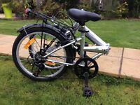 Virtually brand new fold up bike