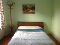 Large double & large single room